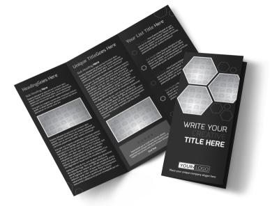 Generic Tri-Fold Brochure Template 11207