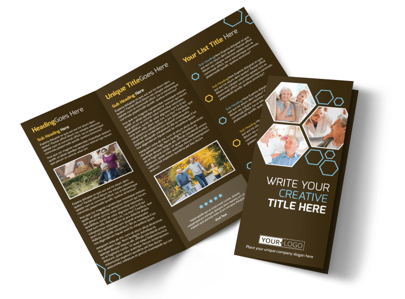 Reliable Home Healthcare Brochure Template Preview 1