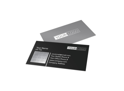 Generic Business Card Template 11209