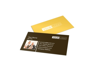 Reliable Home Healthcare Business Card Template preview