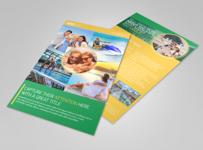 Awesome Tourism Activities Flyer Template 3