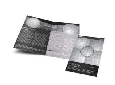Generic Bi-Fold Brochure Template 11215