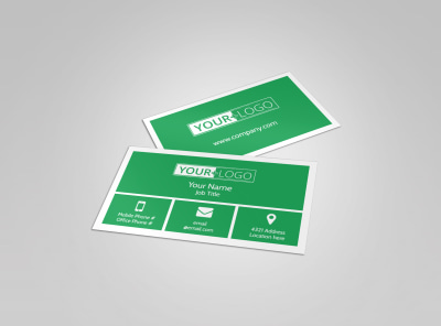 Awesome Tourism Activities Business Card Template