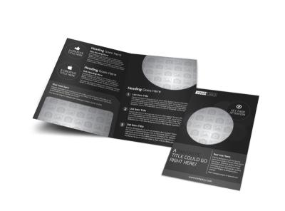 Generic Bi-Fold Brochure Template 11220