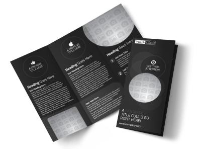 Generic Tri-Fold Brochure Template 11221