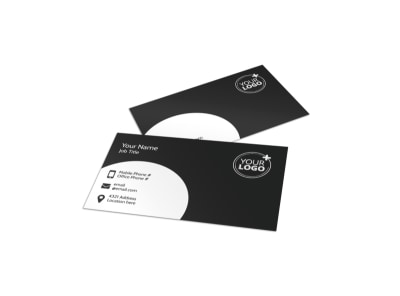 Generic Business Card Template 11227 preview