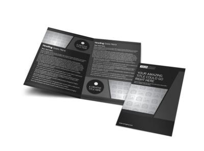 Generic Bi-Fold Brochure Template 11229