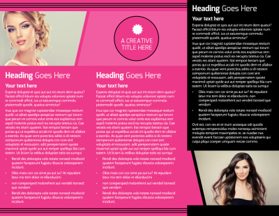 The Beauty Parlour Brochure Template Preview 2
