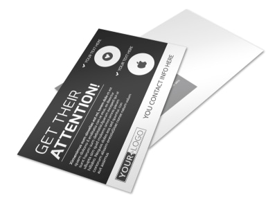 Generic Postcard Template 11231 preview