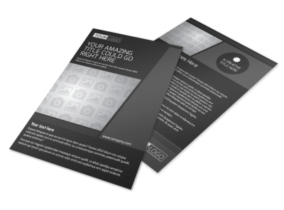 Generic Flyer Template 11232 preview