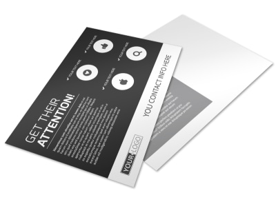 Generic Postcard Template 11233 preview