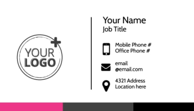 The Beauty Parlour Business Card Template Preview 1