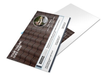 Reliable Roof Cleaning Postcard Template 2