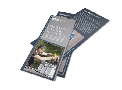 Reliable Roof Cleaning Flyer Template 2 preview