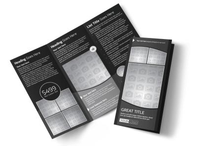 Generic Tri-Fold Brochure Template 11246