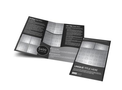 Generic Bi-Fold Brochure Template 11247