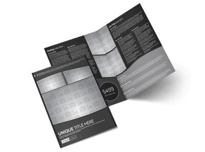Generic Bi-Fold Brochure Template 11254