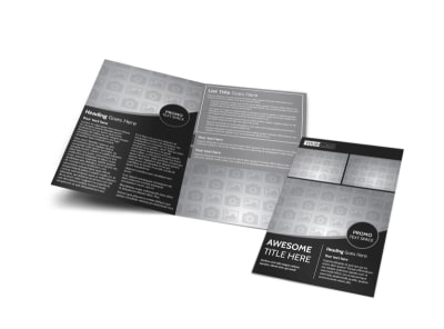 Generic Bi-Fold Brochure Template 11259