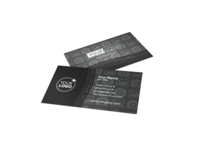 Generic Business Card Template 11272