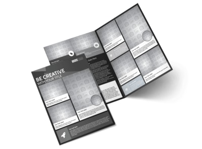 Generic Bi-Fold Brochure Template 11273
