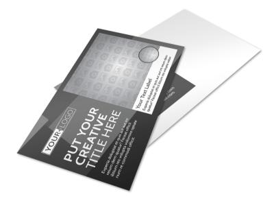 Generic Postcard Template 11274