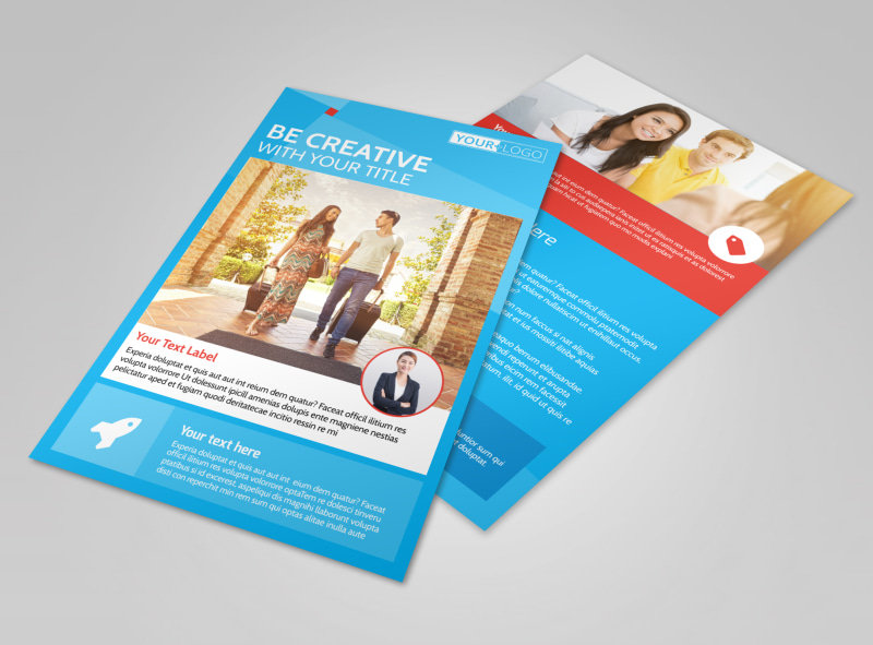 Awesome Travel Agents Flyer Template 3