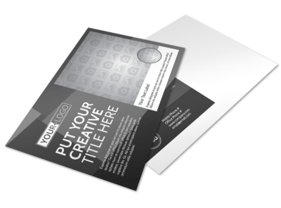 Generic Postcard Template 11276 preview
