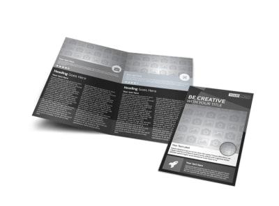Generic Bi-Fold Brochure Template 11277