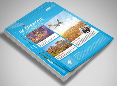 Awesome Travel Agents Flyer Template
