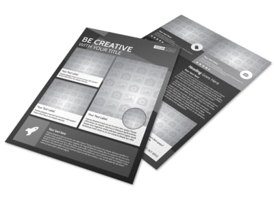 Generic Flyer Template 11278