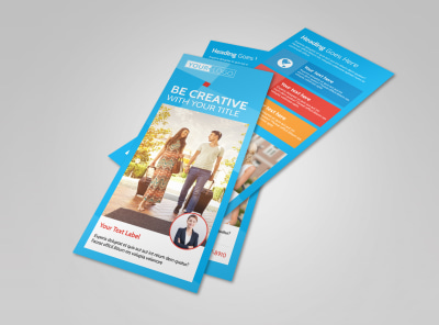 Awesome Travel Agents Flyer Template 2 preview
