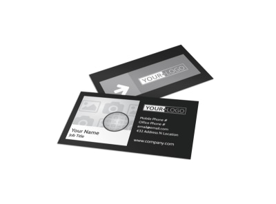 Generic Business Card Template 11281