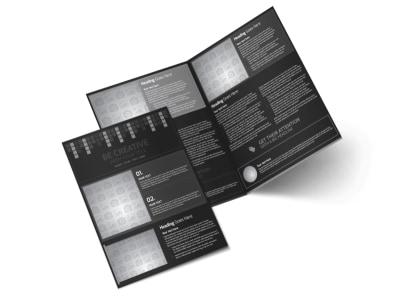 Generic Bi-Fold Brochure Template 11282