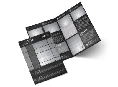 Generic Bi-Fold Brochure Template 11291