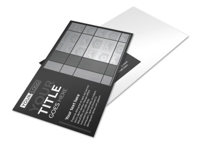 Generic Postcard Template 11292 preview