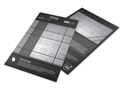Generic Flyer Template 11293 preview