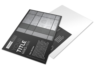 Generic Postcard Template 11294 preview