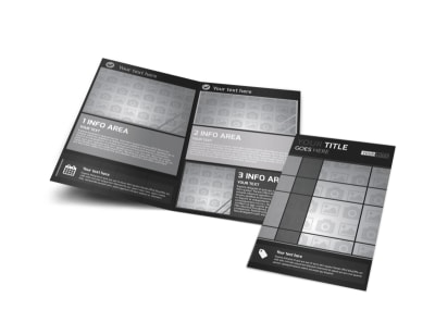 Generic Bi-Fold Brochure Template 11295