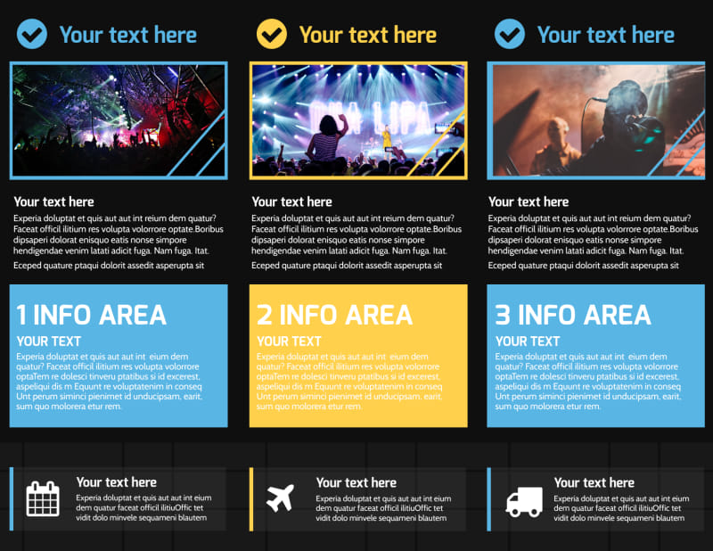 All Day Music Event Brochure Template Preview 3