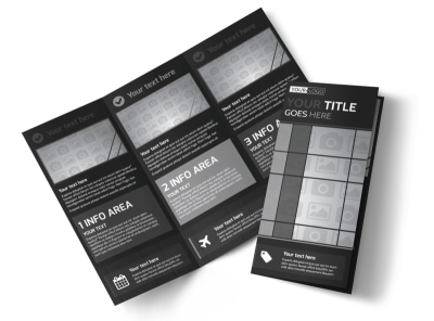 Generic Tri-Fold Brochure Template 11297
