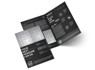Generic Bi-Fold Brochure Template 11300 preview