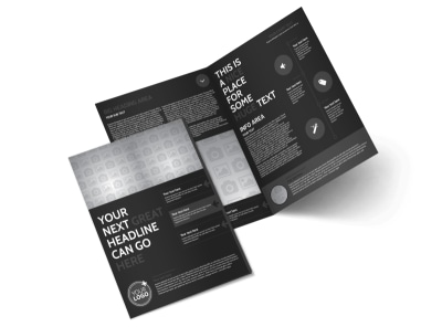 Generic Bi-Fold Brochure Template 11300