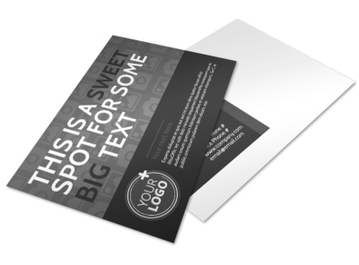 Generic Postcard Template 11301 preview