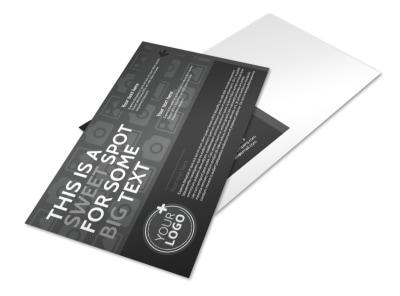 Generic Postcard Template 11303