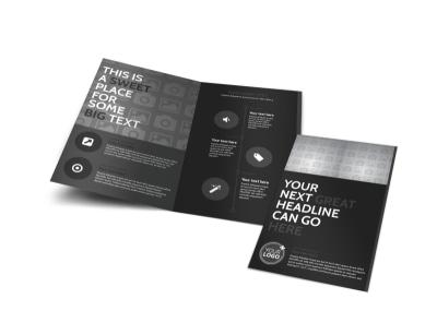 Generic Bi-Fold Brochure Template 11304