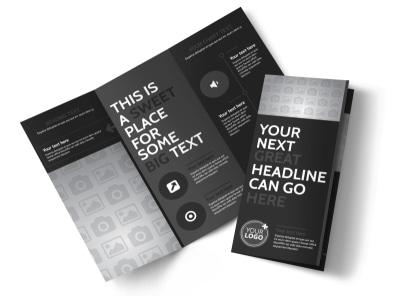 Generic Tri-Fold Brochure Template 11306