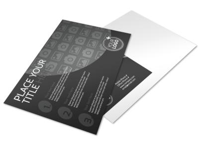 Generic Postcard Template 11312