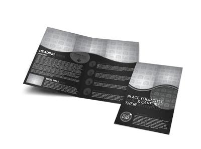Generic Bi-Fold Brochure Template 11313