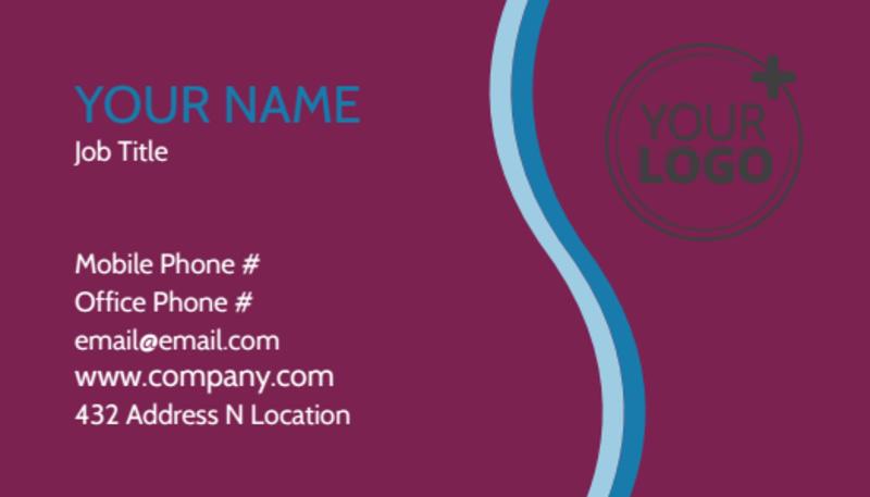 Spa Resort Getaway Business Card Template Preview 2