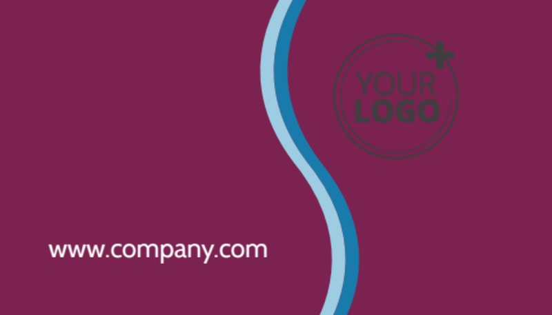 Spa Resort Getaway Business Card Template Preview 3